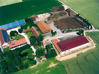 Hahn Kompost - Luftaufnahme vom gesamten Gelände